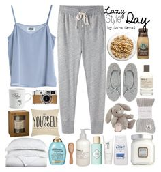 Lazy Day by saraceval on Polyvore featuring polyvore, мода, style, Steven Alan, River Island, Banjo & Matilda, Le Labo, Laura Mercier, Benefit, H2O+, Organix, The Unbranded Brand, Luxor Treasures, Natural Life, Jellycat, MTWTFSS Weekday and Hermès