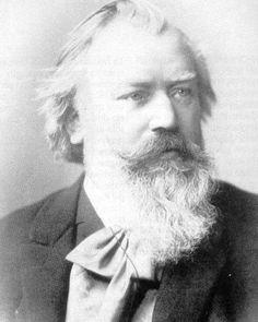 """Ah, that tastes nice. Thank you."" ~~ Johannes Brahms, composer, d. April 3, 1897"