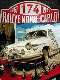 1961 Monte Carlo Rally ~ French automaker Panhard swept the podium at the 1961 Monte Carlo Rally when a trio of 850cc Panhard PL17's finished first, second, and third in the legendary rally.  The event rules heavily favored small displacement engines in 1961, and made larger displacement cars uncompetitive.  Panhard, founded in 1891, stopped manufacturing cars in 1968.