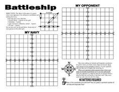 Cartesian Graphing: Notes, Posters, & Battleship! CCSS 6