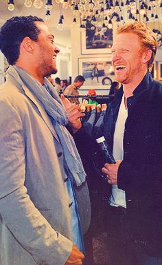 Jesse Williams and Kevin McKidd Behind the scene - Avery and Hunt Grey's Anatomy #greysanatomy