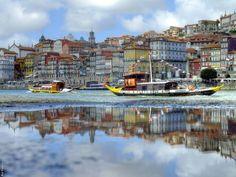 Porto, Douro River, Rabelo boat, Ribeira, Portugal   by Rui Videira