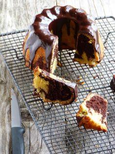 chic,chic,choc...olat: Bundt cake marbré au chocolat {Battle Food #17}