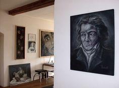 Atelieransichten Gallery Wall, Frame, Home Decor, Atelier, Homemade Home Decor, A Frame, Frames, Hoop, Decoration Home