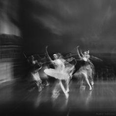 ghost ballerinas by Onur Kırkaç, via 500px