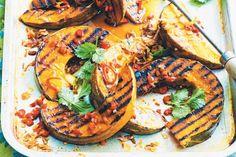 spiced baked pumpkin salad