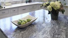 Love the look of granite countertops but not the cost or upkeep? by Formica Group is your solution. This kitchen features 6319 Cafe Azul. Click-through to order your free sample. Kitchen Reno, New Kitchen, Kitchen Remodel, Kitchen Design, Kitchen Ideas, Awesome Kitchen, Granite Kitchen, Kitchen Sinks, Kitchen Stuff