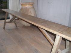 Frans, Outdoor Furniture, Outdoor Decor, Dining Bench, Home Decor, Decoration Home, Table Bench, Room Decor, Home Interior Design