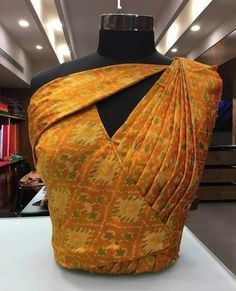 Gorgeous blousess designs for silk sarees Head over to the site to see more on ~   #sariblouses
