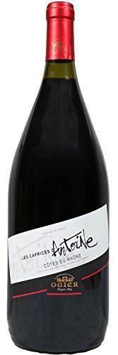 Magnum Côtes du Rhône, Les Caprices d'Antoine, Ogier (Rhône), 2014 – Vin Rouge: Appellation : Côtes du Rhône et Villages Caractéristiques :…