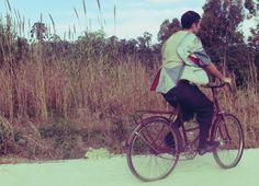 bicicleta, viajeros GB