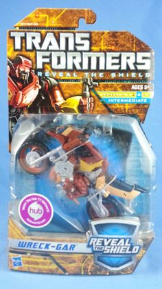 Transformers WRECK-GAR Reveal The Shield RTS Deluxe 2011 MOSC