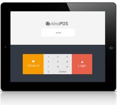 kino POS - app for purchases by Dalechuk Inna, via Behance
