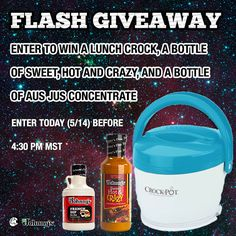 Enter to win this awesome giveaway from Johnny's Seasonings.