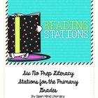This product is a 13 page PDF file that I created as Reading Centers or Stations.  There are 6 available activities:  fluency, word study (word sor...