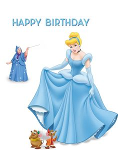Send FREE Cinderella Birthday Ecards To Friends Relatives And Co Workers