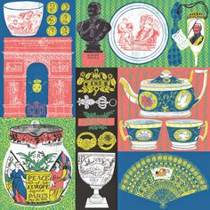 "Alice Pattullo limited edition print for ""Peace Breaks Out!"" exhibition at Sir John Soane Museum"