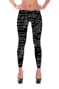 bc06f1b56ce61 Math Leggings - Engineer Leggings - Math Student Leggings - Engineering Math  Leggings
