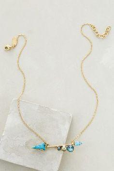Elizabeth Cole Bristol Arrow Necklace #anthrofave
