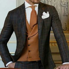 Men's Classic Formal Plaid Blazer Product ID brand name carbonhot gender male season autumn,summer,winter,spring. Mens Fashion Suits, Mens Suits, Men's Fashion, Fashion Menswear, Fashion Clothes, Business Mode, Business Fashion, Checkered Suit, Look Formal