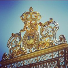 Gilded Gates of Versailles - www.chateauversailles.fr