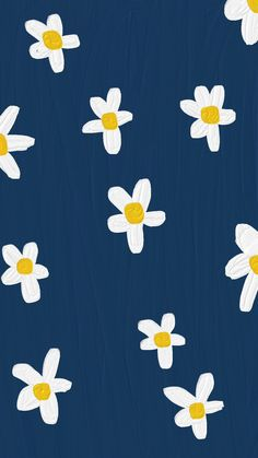 Daisy Wallpaper, Cute Pastel Wallpaper, Soft Wallpaper, Flower Phone Wallpaper, Graphic Wallpaper, Cute Patterns Wallpaper, Iphone Background Wallpaper, Aesthetic Pastel Wallpaper, Painting Wallpaper