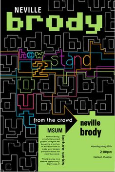 neville brody grren Neville Brody, Typographic Design, Art Posters, Typography Letters, Graphic Designers, Coachella, Art Direction, Alphabet, How To Draw Hands