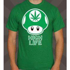 $179.00 Playera High Life Mario Bross Hierba Buena - Jinx