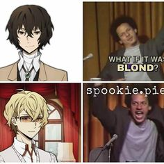 Just some memes about our loveable Bungou Stray Dogs Characters! 5 me… #fanfiction #Fanfiction #amreading #books #wattpad