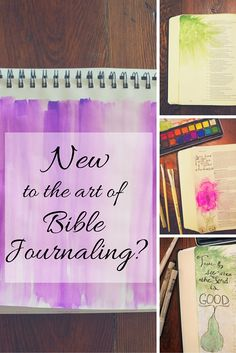 Are You New to the Art of Bible Journaling? Read Move the Mountains' article on how to get started on your Bible journaling journey! #biblejournaling