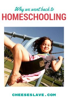 Why We Went Back to Homeschooling