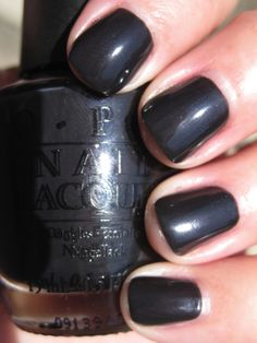 OPI Suzi Skis...one of my new fav's for my nails this fall!