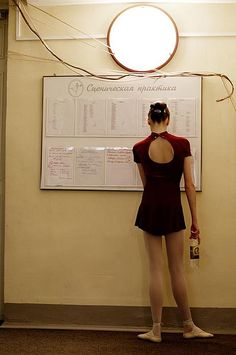 The schedule by Gevorg Markosyan #ballet #dancer