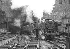 Un-named Britannia no.70047. Birmingham (New Street). 13 July 1963.