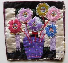 Thread and Thrift: Spring Flowers