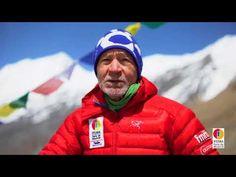 Imágenes de la Expedición IFEMA-Carlos Soria  entre el CI y CII del Dhau...