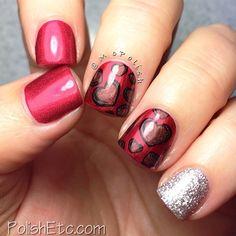 valentine by mcpolish #nail #nails #nailart