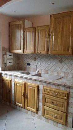 Costruire una cucina in muratura con mobili ikea | Κουζίνα ...
