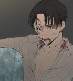 Find images and videos about attack on titan, shingeki no kyojin and eren jaeger on We Heart It - the app to get lost in what you love. Attack On Titan Fanart, Attack On Titan Levi, Levi X Eren, Armin, Levi Ackerman, Manga Anime, Anime Boys, Ereri, Levihan