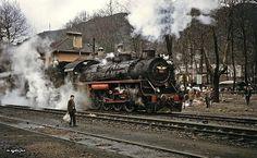 Zonguldak - Çatalağzı İstasyonu, 1973 Steam Engine, Steam Locomotive, Engineering, Train, Technology