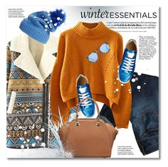 """""""Show Off Your Winter Wardrobe Staples"""" by svijetlana ❤ liked on Polyvore featuring American Eagle Outfitters, Illesteva, Wildfox, polyvoreeditorial and winterstaples"""