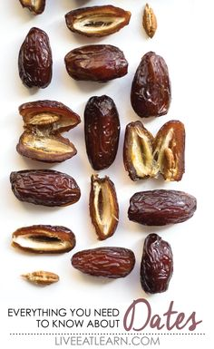 Did you know dates only have moisture content, making them a naturally dehydrated fruit? Here is everything you need to know about Medjool Dates (and beyond)! Date Recipes Desserts, Dates Benefits, Middle East Food, Fruit Photography, Medjool Dates, Eat The Rainbow, Arabic Food, Food Design, Good Food