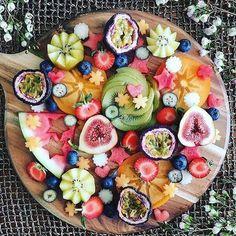 Fashion week fruit salad food porn.
