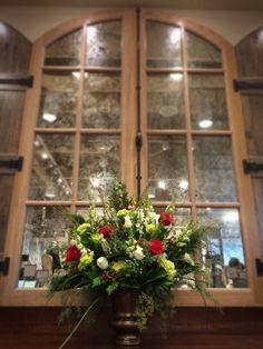 A beautiful floral arrangement adorns our newest Soft Surroundings store at Bridgeport Village in Tigard, Oregon.   Soft Surroundings