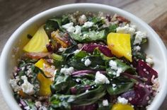 Warm Beet Salad with Beet Greens & Stems | 13 Vegetarian Recipes With ...