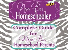 I am the co-creator of a program for new homeschoolers @  newbeehomeschooler.com