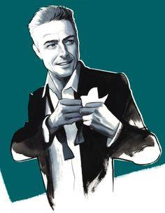 Illustrations de Mode version Homme par Fernando Vicente