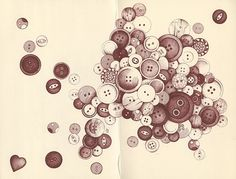 'buttons' by andrea joseph's illustrations on flickr