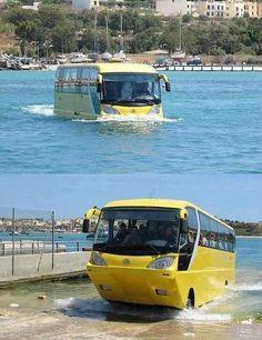 Scotland's Amfibus bus service