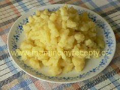 Halušky z brambor